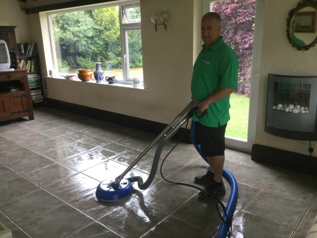 Grout Cleaning & Restoration