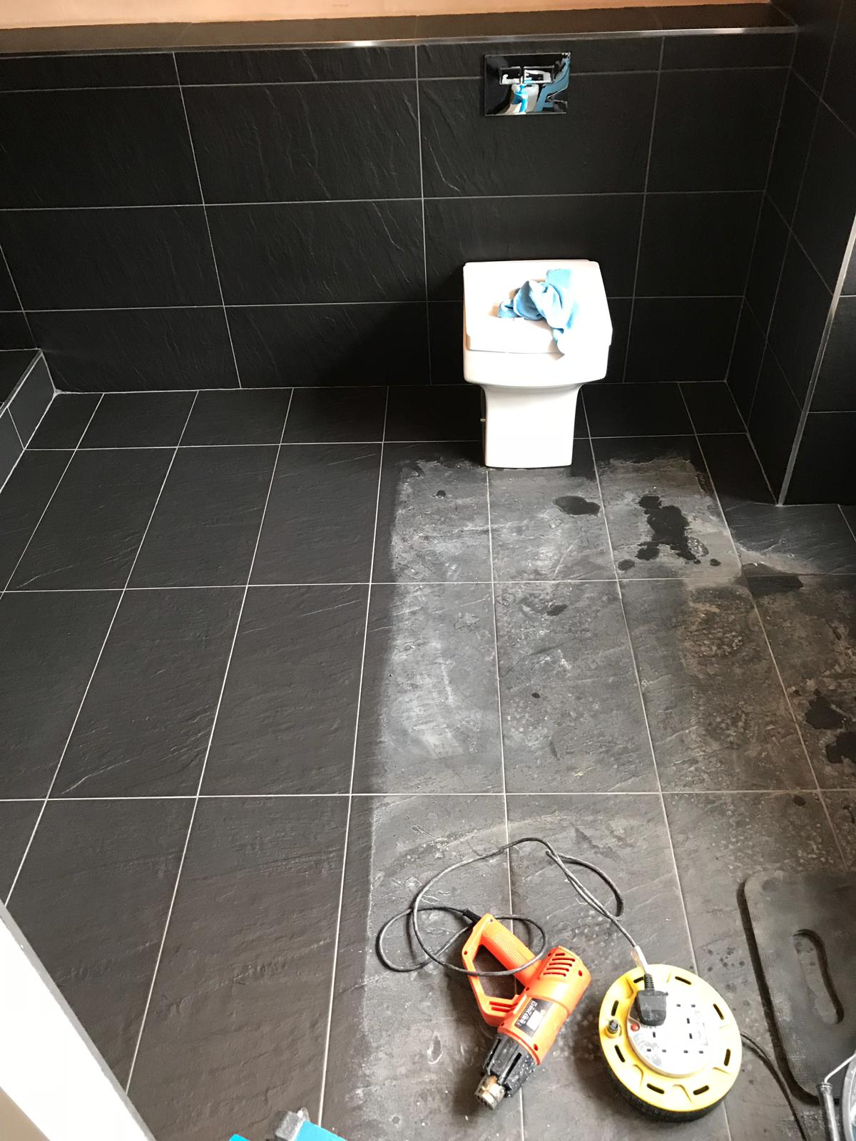 Removing Grout Smears